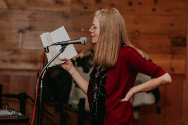 Kate Anderson-Bernier, A Gap in the Fence, book reading